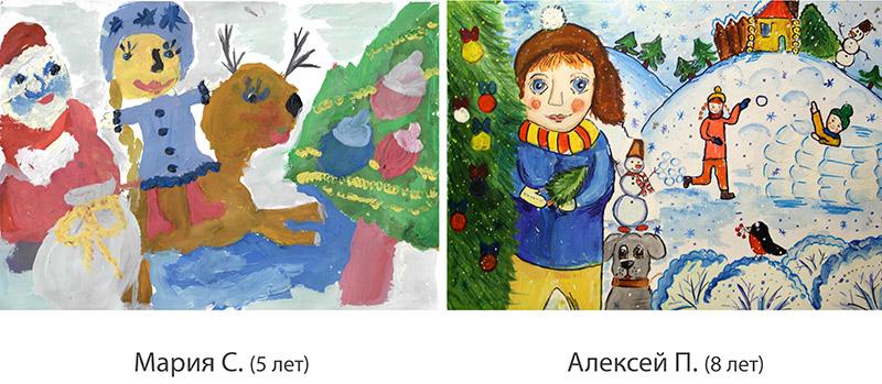 Конкурс Новогоднего рисунка